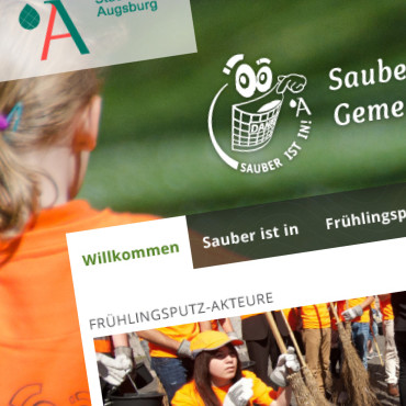 Sauber ist in – Stadt Augsburg
